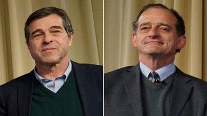 Ernesto Talvi y Guido Manini Ríos anunciaron su apoyo a Luis Lacalle Pou (Reuters)