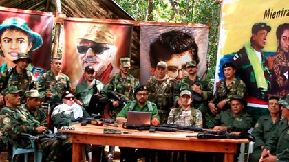 """El tercer anuncio de la facción de las FARC encabezadas por """"Iván Márquez"""" y """"Jesús Sántrich"""""""