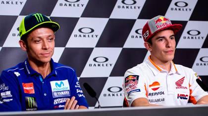 Márquez está a solo un título de igualar los siete del italiano Valentino Rossi en MotoGP (Shutterstock)