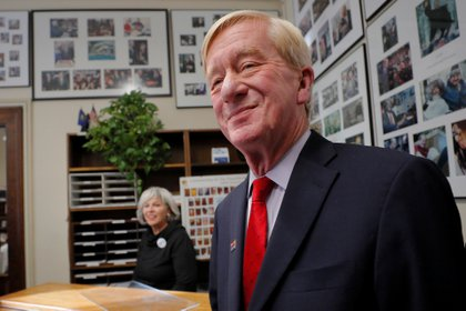 Bill Weld en Concord, New Hampshire (REUTERS/Brian Snyder)