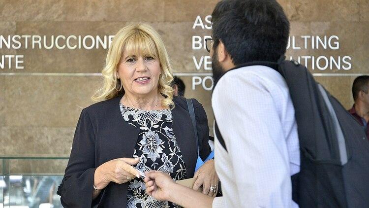 La ministra de Justicia Marcela Losardo (Gustavo Gavotti)