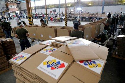 El régimen de Maduro organizó elecciones legislativas sin egarantías democráticas (REUTERS)