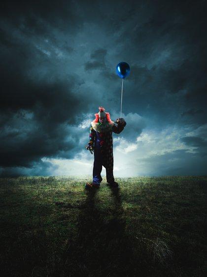 La fobia como tal se llama coulrofobia. El miedo irracional que se desprende de la observación y cercanía a un payaso (Shutterstock)