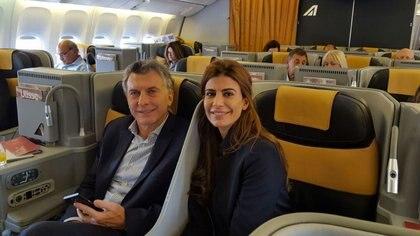 Macri viajó a París junto a su familia