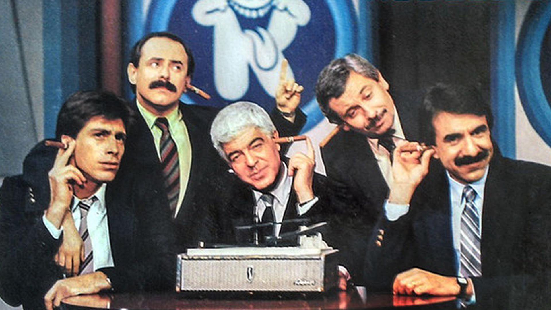 """""""La noticia rebelde"""", el exitoso programa de Jorge Guinzburg, Adolfo Castelo, Nicolás Repetto, Carlos Abrevaya y Raúl Becerra en ATC"""