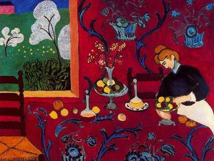 La habitación roja (1908) de Henri Matisse