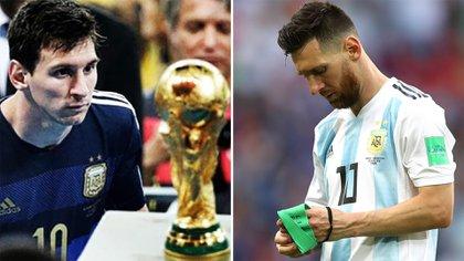 Messi: la Copa del Mundo que no pudo ser en 2014 y el dolor tras la eliminación en 2018