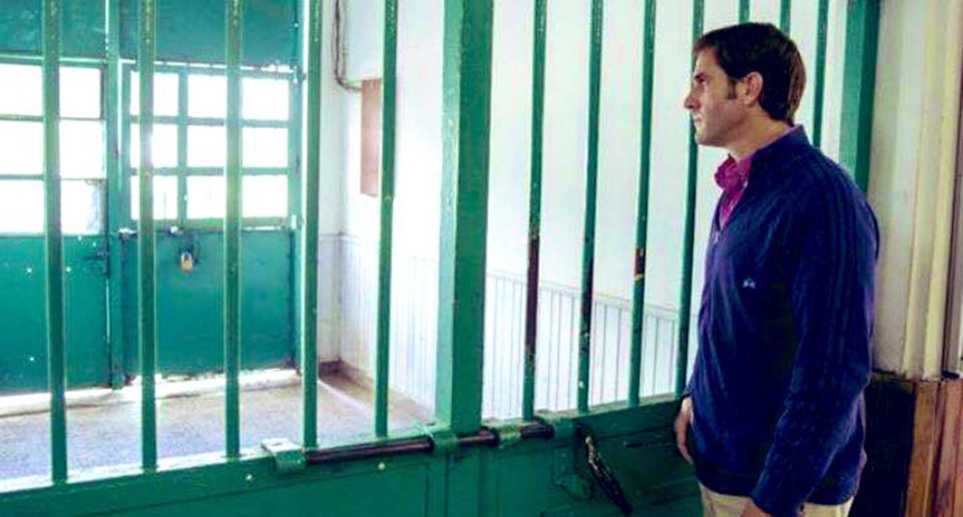 Schlenker se encuentra recluido en el penal de Rawson (@schlenkeralan)