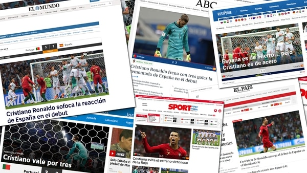 MUNDIAL DE FUTBOL RUSIA 2018, NOTÍCIAS Y CURIOSIDADES Tapas-medios-espanoles-Espana-Portugal