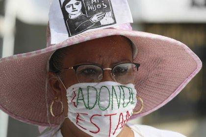 En México se acaba de crear la Comisión Nacional de Búsqueda de Personas que reveló que hay 40.180 personas desaparecidas (AP Photo/Fernando Llano)