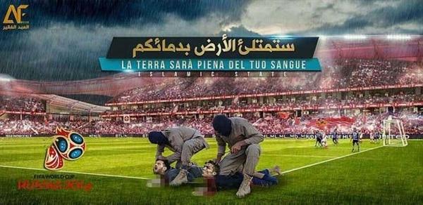 La aterradora imagen de Messi y Ronaldo siendo decapitados