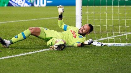 David Ospina vuelve a ser titular con el Napoli ante el Udinese