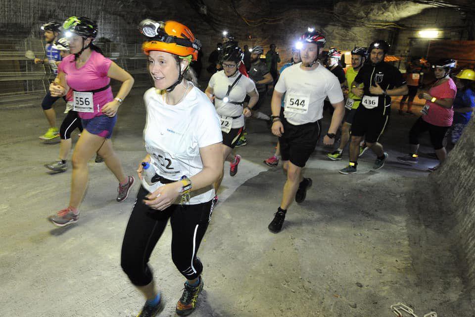 Ambas carreras se desarrollan en el interior de minas de sal (Facebook: Erlebnis Bergwerk Merkers)