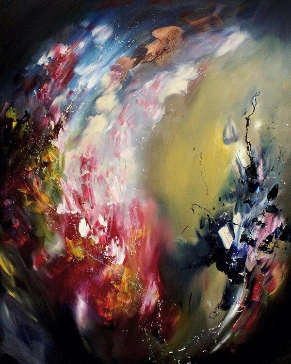 Artista con sinestesia: ve colores en la música y pinta canciones