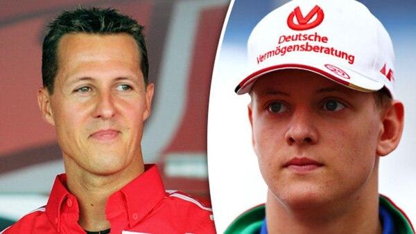 Michael y Mick Schumacher