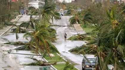Huracán Wilma 2005 (Foto: Twitter@CancunForos)