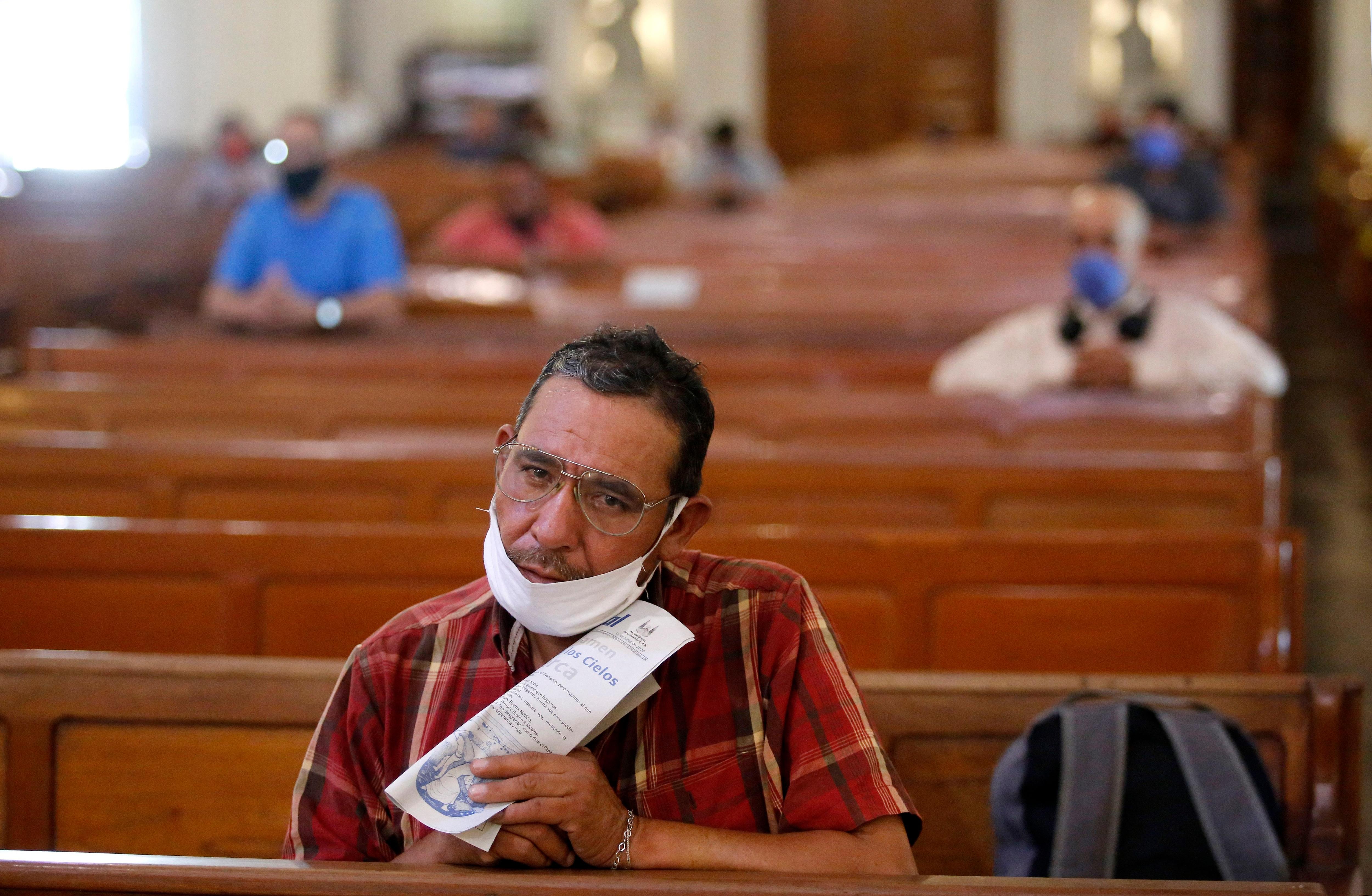 Iglesia - guadalajara -covid19 -coronavirus - mexico - 06162020