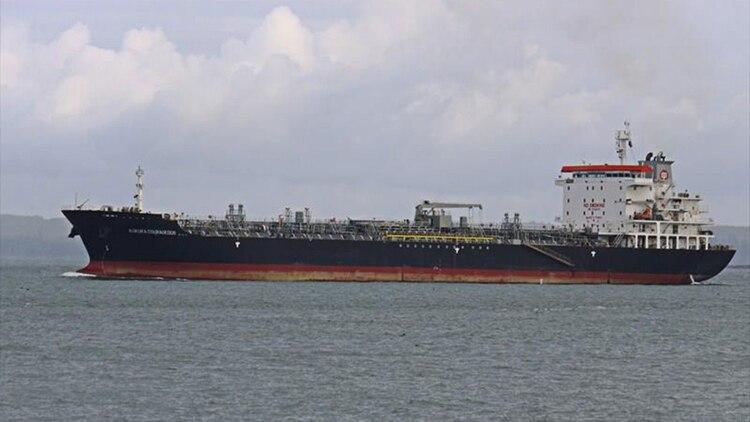 El petrolero Kokuka Courageous (Frederick A. Terry/ MarineTraffic)