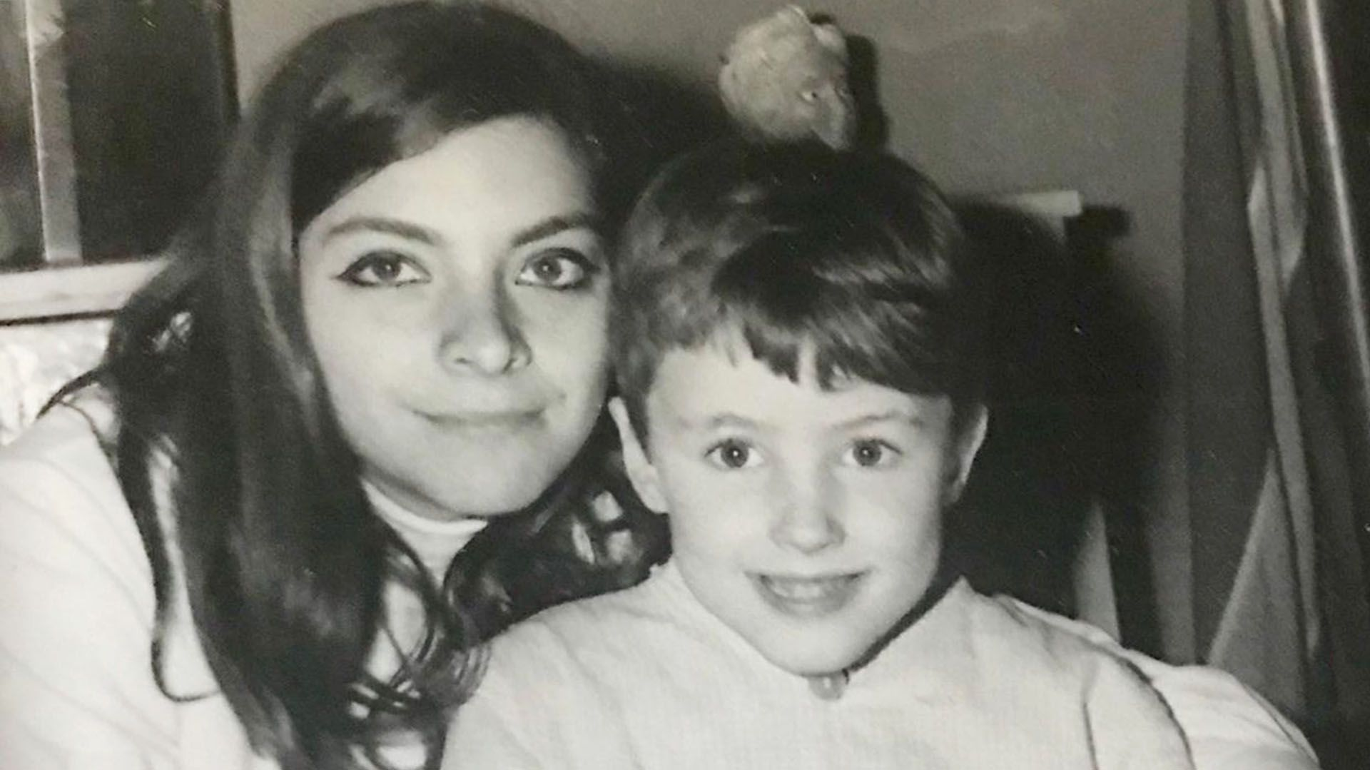 Hugo Capparelli durante su infancia