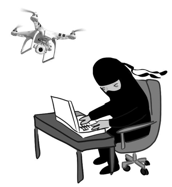 Hackear drones, una de las técnicas recomendadas