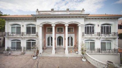 El palacio de Zheli Ye Gon en las Lomas de Chapultepec. Foto: Agencias
