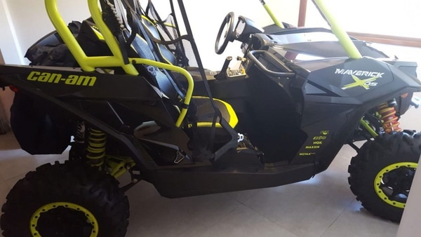 El Can Am Maverick X DS de Balcedo