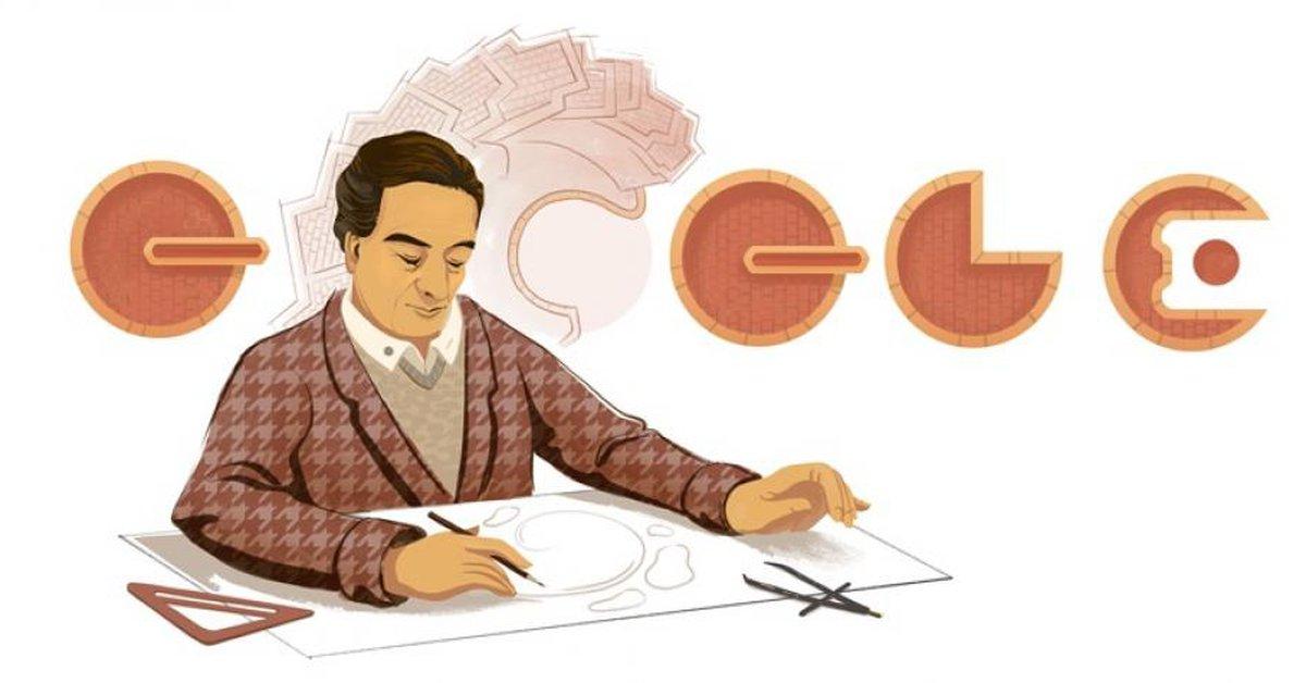 Rogelio Salmona, el doodle que rinde homenaje al reconocido arquitecto colombiano - Infobae