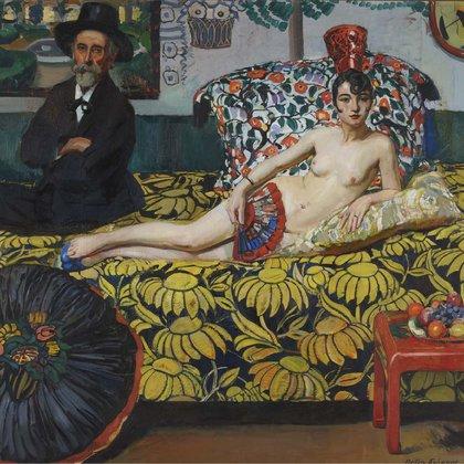 """Desnudo de frente"" (1922) de Antonio Ortiz Echagüe (Museo Reina Sofía de Madrid, España)"
