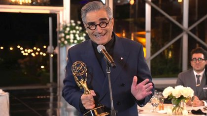 Eugene Levy (Foto: The Television Academy y ABC Entertainment vía AP)