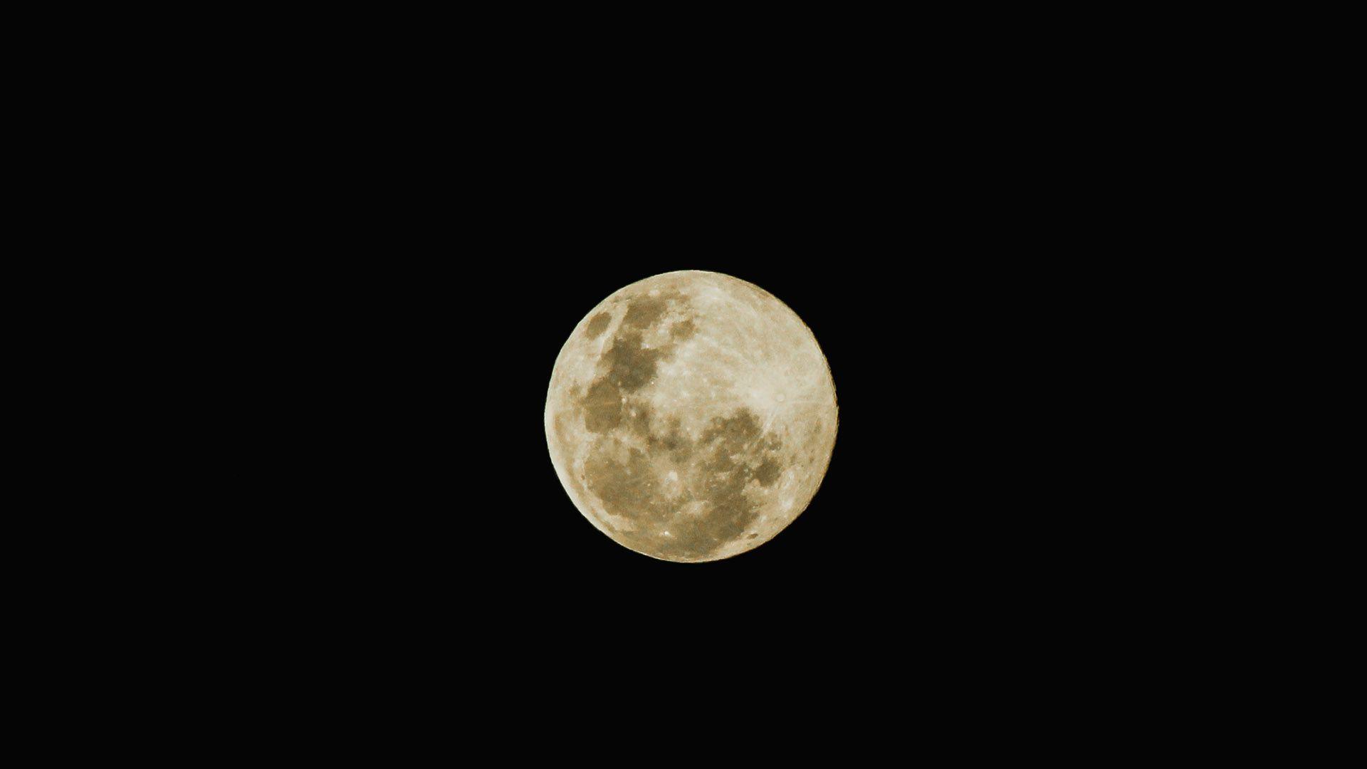 superluna - Luna de Gusano