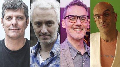 Mario Pergolini, Andy Kusnetzoff, Daniel Malnatti y Nacho Goano