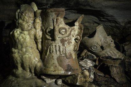 El año pasado fue la segunda ocasión en la que arqueólogos tuvieron conocimiento de la cueva (Foto: Karla Ortega)