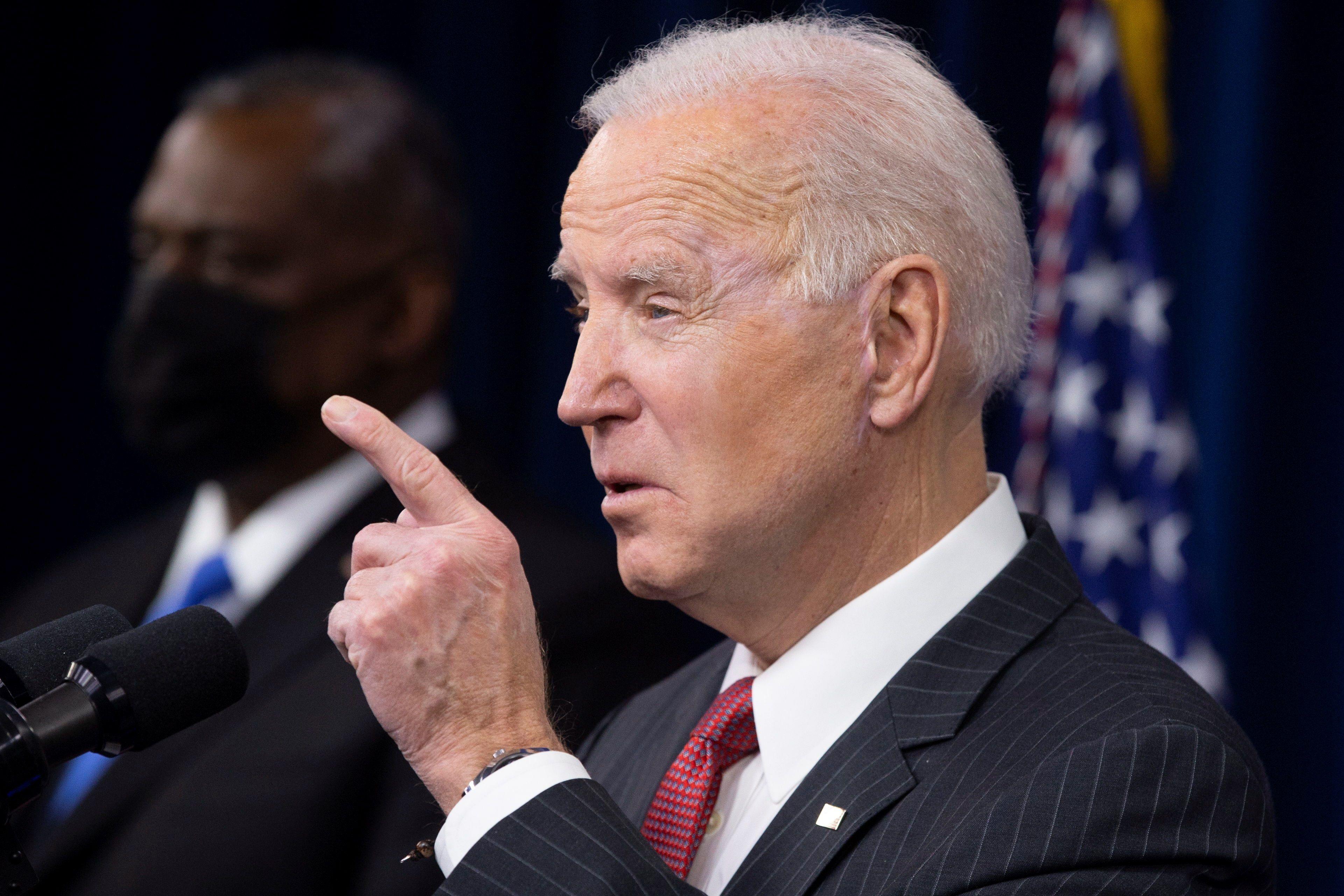 En la imagen, Joe Biden, presidente de EE.UU. EFE/EPA/MICHAEL REYNOLDS