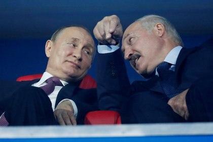 Putin es el principal partidario del presidente bielorruso