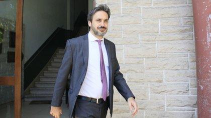 El juez federal de Dolores, Alejo Ramos Padilla, candidato a llegar a la Cámara Federal porteña (foto Tony Gomez)