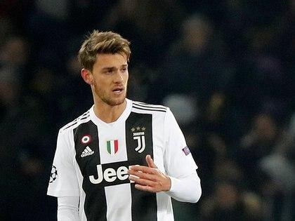 Daniele Rugani había dado positivo la semana pasada (Reuters)