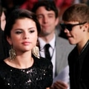 Mandatory Credit: Photo by Broadimage/Shutterstock (1443522a) Selena Gomez and Justin Bieber 'Abduction' film premiere, Los Angeles, America - 15 Sep 2011