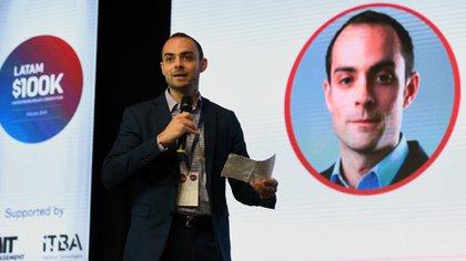 Travis Hunter, director del Programa Regional de Aceleración del Emprendimiento del MIT, abrió la final en Buenos Aires