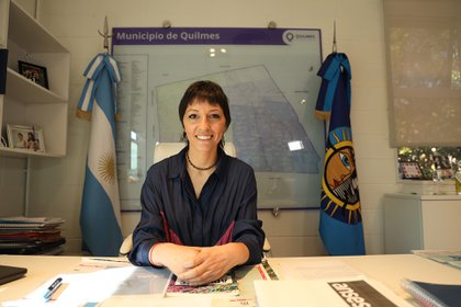 Mayra Mendoza, intendenta de Quilmes (Frente de Todos), tampoco accedió a precisar cuál es su remuneración.