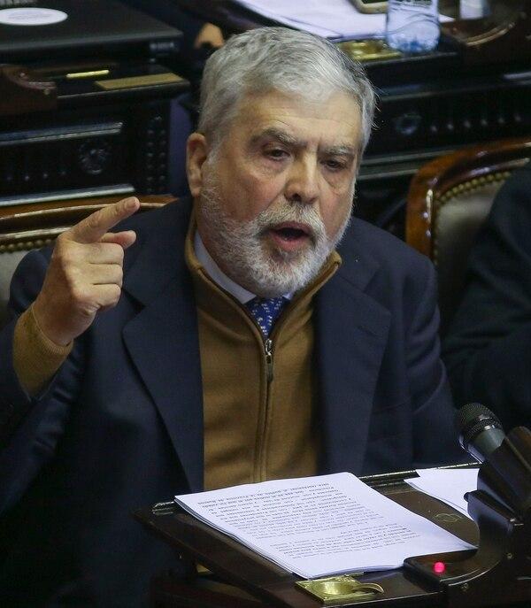 Julio De Vido en la Cámara de Diputados (NA)