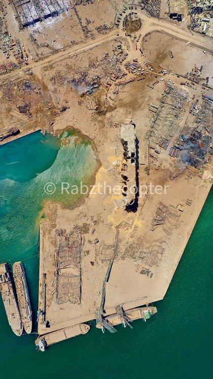 Otra toma aérea del puerto (@rabzthecopter)