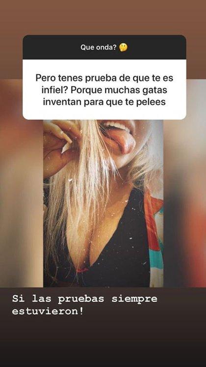 No es la primera vez que More acusa a Ambrosioni de infidelidad (Foto: Instagram)