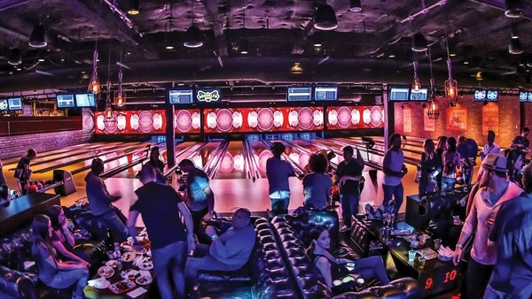 Brooklyn Bowl an ideal place to go if the days do not go with the weather.  Located at 61 Wythe Ave, Brooklyn, there you can try exquisite signature drinks and bowling with friends and family