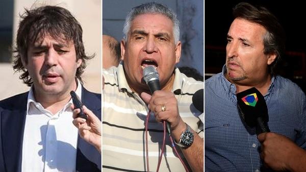 De Sousa, Medina y Núñez Carmona: pelea de a tres.