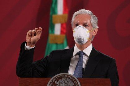 El gobernador Alfredo del Mazo informó que mientras los contagios y el número de hospitalizados no disminuya, el Estado de México no reanudará actividades (Foto: Galo Cañas/cuartoscuro.com)