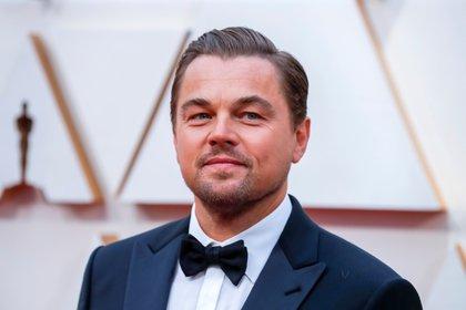 En la imagen un registro del actor estadounidense Leonardo DiCaprio.