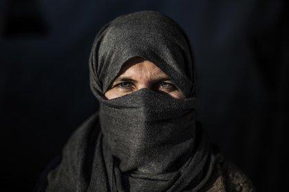 Sea Haso pasó tres años secuestrada por el Estado Islámico. Su marido fue asesinado y 3 de sus hijos continúan cautivos en Raqqa, Siria. (Pablo Cobos)