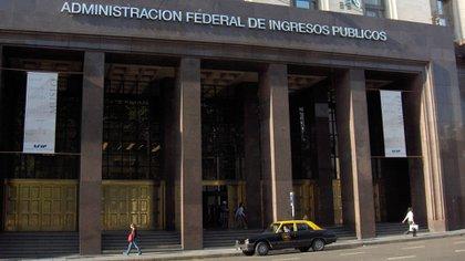 Sede de la AFIP.
