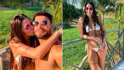 Ivana Nadal y Bruno Siri, muy enamorados
