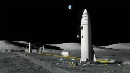 Moon Base Alpha (Space X)